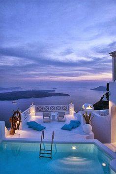 The Majestic Santorini islands, Greece