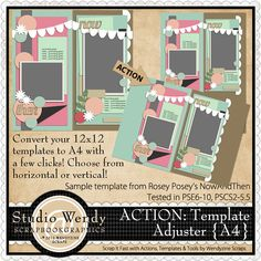 ACTION: Template Adjuster {A4}