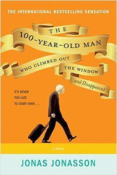 The 100 year old man who climbed out the window and dissapeared (el abuelo que saltó por la ventana y se largó) El best seller de Johas Jonasson, fácil y ameno.  Lectura para el 2º trimestre.