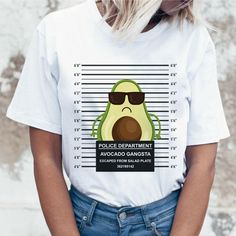 Teen Fashion Outfits, Retro Outfits, Outfits For Teens, Trendy Outfits, Shirt Print Design, Tee Design, Shirt Designs, Avocado Shirt, Geile T-shirts