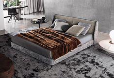 Doppelbetten: Bett Spencer von Minotti