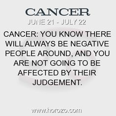 Fact about Cancer: Cancer: You know there will always be negative people... #cancer, #cancerfact, #zodiac. More info here: https://www.horozo.com/blog/cancer-you-know-there-will-always-be-negative-people/ Astrology dating site: https://www.horozo.com
