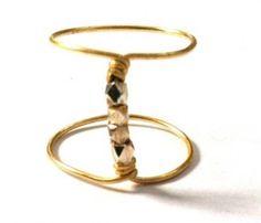 Rosie Half Finger Ring