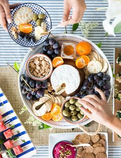 the perfect cheese platter is a MUST for any party