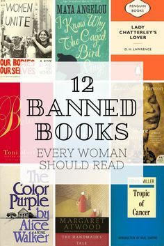 12 Banned Books Every Woman Should Read