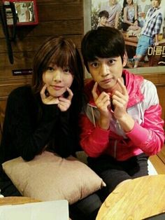 Shinee's Minho and f(x)'s Sulli ^_^ playing the role of Tae Joon and Jae Hee in the drama To the Beautiful You