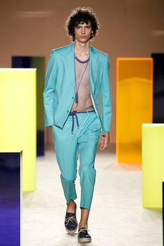 Male Fashion Trends: Antonio Miró Spring-Summer 2017 - 080 Barcelona Fashion