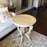 Stage of vase of white hydrangeas for an elegant entryway accent, or add this timeless end table to your reading nook for a stylish spot to rest your latest read or a chic lamp. White Hydrangeas, Reading Nook, Joss And Main, Room Chairs, End Tables, Stool, Entryway, Rest, Living Room