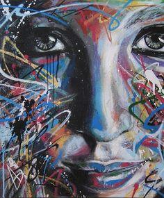 The Official David Walker Website David Walker, Walker Art, Amazing Street Art, Amazing Art, Muse Art, Funky Art, The Draw, Art For Art Sake, Art Graphique