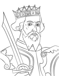 William the Conqueror coloring page from United Kingdom category. Select from 22435 printable crafts of cartoons, nature, animals, Bible and many more.