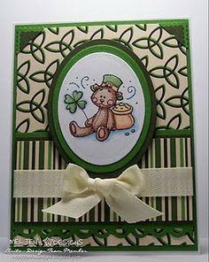St Pat's Card
