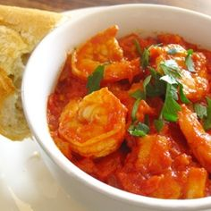 Shrimp Fra Diavolo - a quick and easy meal that's hot and spicy.