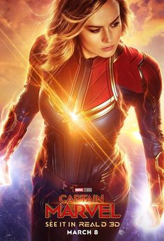 Captain Marvel new Poster Carol Danvers Brie Larson Poster Marvel, Marvel Comics, Hero Marvel, Films Marvel, Marvel Movie Posters, Marvel Dc, Marvel Hela, Marvel Logo, Hindi Movies