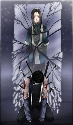I miss Haku and Zabuza. The battle between them and the Leaf's Team 7 was my favorite battle from Naruto. I love the Executioner's Blade too!