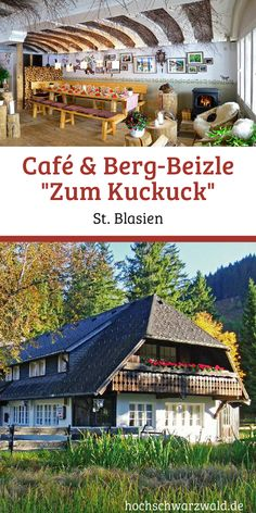 """Café & Berg-Beizle """"Zum Kuckuck"""" - Typical Hochschwarzwald delicacies, a modern and cozy atmosphere and a stone& throw from the - Black Forest Germany, Europe Continent, Living In Europe, Road Trip Hacks, Travel Goals, Travel Tips, Culture Travel, Romantic Travel, Holiday Travel"""