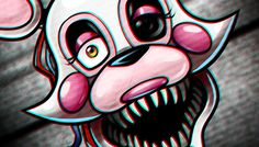 How to Draw Mangle the Fox from Five Nights At Freddy's 2, Foxy 2.0, Ste...
