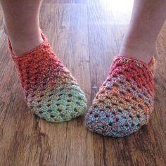 eclectic me: Granny Slipper Love......