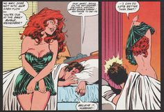 Spider-Man Peter Parker Mary Jane Watson...the power of a woman lol