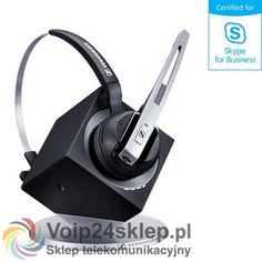 SŁUCHAWKA BEZPRZEWODOWA SENNHEISER DW10 USB ML - EU - SKYPE FOR BUSINESS