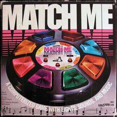 Kingsford, Ltd.- Match Me (1979, Lights, 4 C Batteries, Model# 1003)