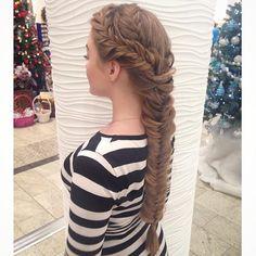 Elegant #braided #hairstyle