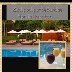 Combining ZEAL WELLNESS with a pool party! REFRESHING inside and out! www.flygirl.zealforlife.com