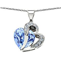 I love the necklace. In my opinion, it is actually bigger than the picture makes it look. The coloring in the stone is very vibrant and the silver is flawless. 5 stars.