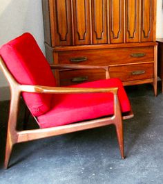 Lounge Chairs, Mid Century