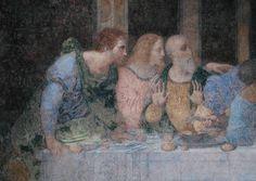 The Last Supper - Leonardo da Vinci as art print or hand painted oil. Leonardo, Da Vinci Last Supper, Fine Art, Leonardo Da Vinci, Art For Art Sake, Last Supper, Davinci, Painting, Renaissance Artists