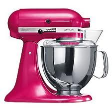 I want a hot pink one, even though Blake's deemed the kitchen his. I bake.