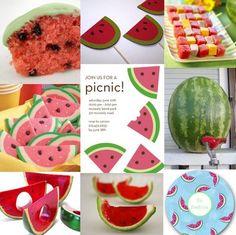 Pampered Princess Parties: Watermelon Picnic