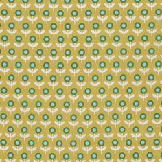 Joel Dewberry - Modernist - Tulip March - Honey