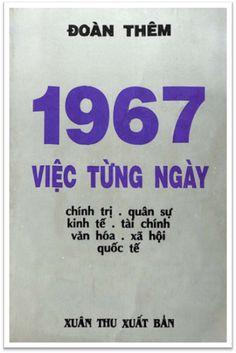 1967 Việc Từng Ngày (NXB Xuân Thu 1968) - Đoàn Thêm, 337 Trang | Sách Việt Nam