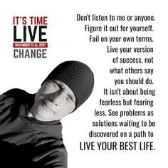 Motivate Yourself, Live For Yourself, Say You, You Changed, Life Is Good, Success, Positivity, Motivation, Sayings