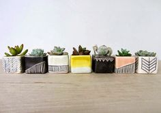 {BLACK. WHITE. YELLOW.}: Handmade Ceramics | Elizabeth Benotti