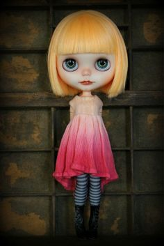 Withered Flower Ombre Blythe Dress by Cupcake Curio