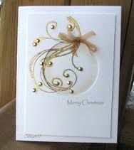Image result for elegant handmade christmas cards