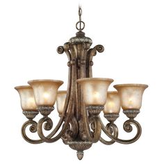 Carlyle 6-Light Shaded Chandelier
