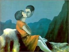 Ahh, Magritte.  Always sees life as art.  One of my favorite artists.