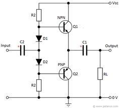 Audio Limiter Circuit   Audio, Circuit, Qrp