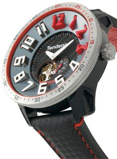 Tendence Carbon Fiber Black Automatic Limited Edition - Watches.com