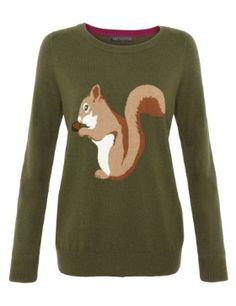 Squirrel jumper £29.50 M&S