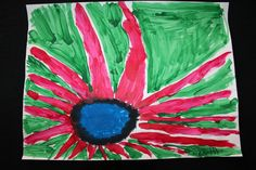 Georgia O'Keeffe Flower by Nevin