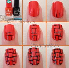 Weave Nails Tutorial