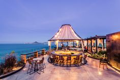 The Rooftop at The Cape, a Thompson Hotel, is the only rooftop bar and lounge in Cabo San Lucas. Relax in the open-air terrace or beer garden while drinking handcrafted cocktails and taking in the gorgeous Los Cabos sunset.
