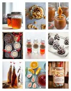 14 amazing ideas for DIY homemade food gifts