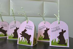 Easter Basket Treats Set of 5 Easter Party Favors by apaperaffaire