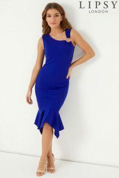 2b92064e80a Buy Lipsy Ring Detail Hanky Hem Bodycon Dress from the Next UK online shop