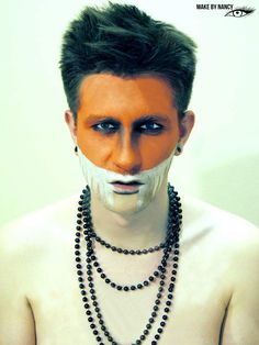 MAKE BY NANCY/ GROPRO studio #ethnic #makeup #makeupartist #mua #fashion #highfashion #orangemakeup