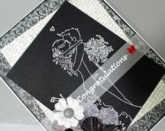"Make ""Wow""-Worthy DIY Wedding Cards With Embossed Line Images"